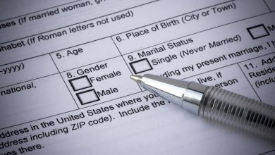 Selection Of Gender In Application Form